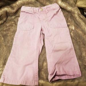 Cute toddler lilac denim pants